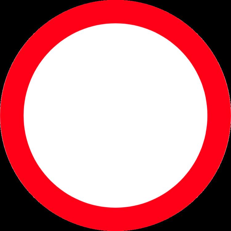 Förbud för fordon av alla slag