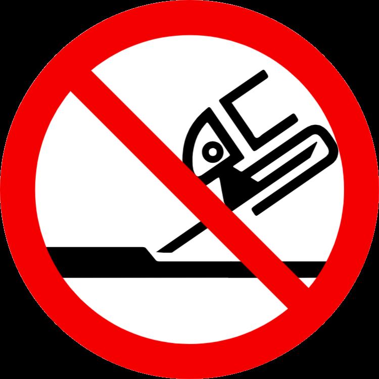 Inte tillåtet för sidoslipning