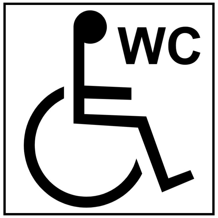 Toalett för rullstolsanvändare