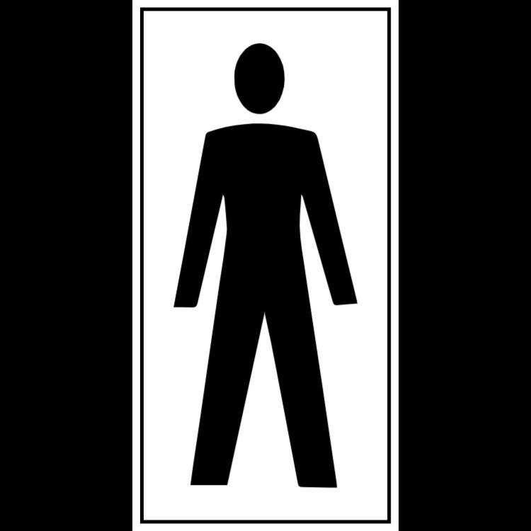 Toalett för män