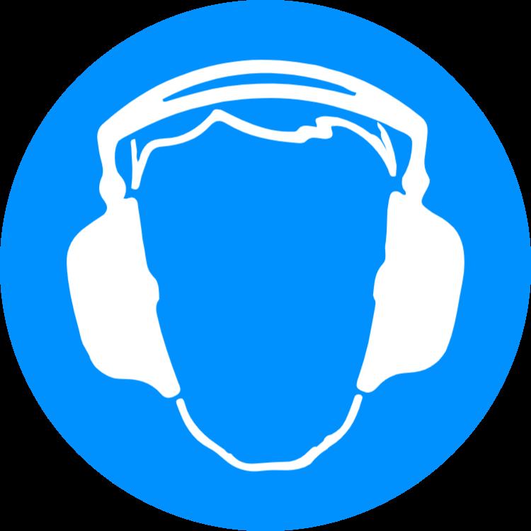 Använd hörselskydd 1