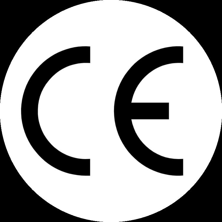 CE-logotypen (rund)