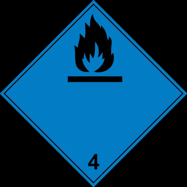 Brandfarliga gaser i kontakt med vatten