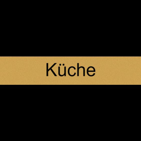 Küchentürschild
