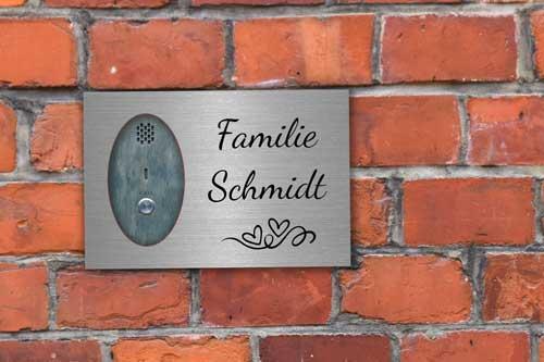 Tür Namensschilder
