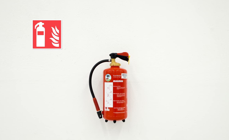 Feuer Ausrüstung Zeichen