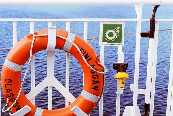 International Marine Organisation (IMO) Sicherheitszeichen