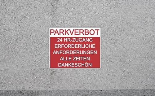 Parkschilder