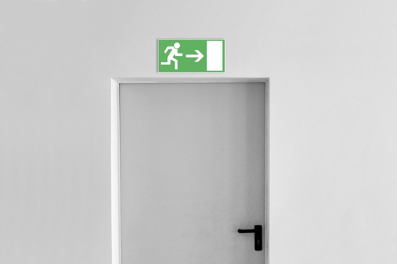Sicherheitsbedingungs-Schilder