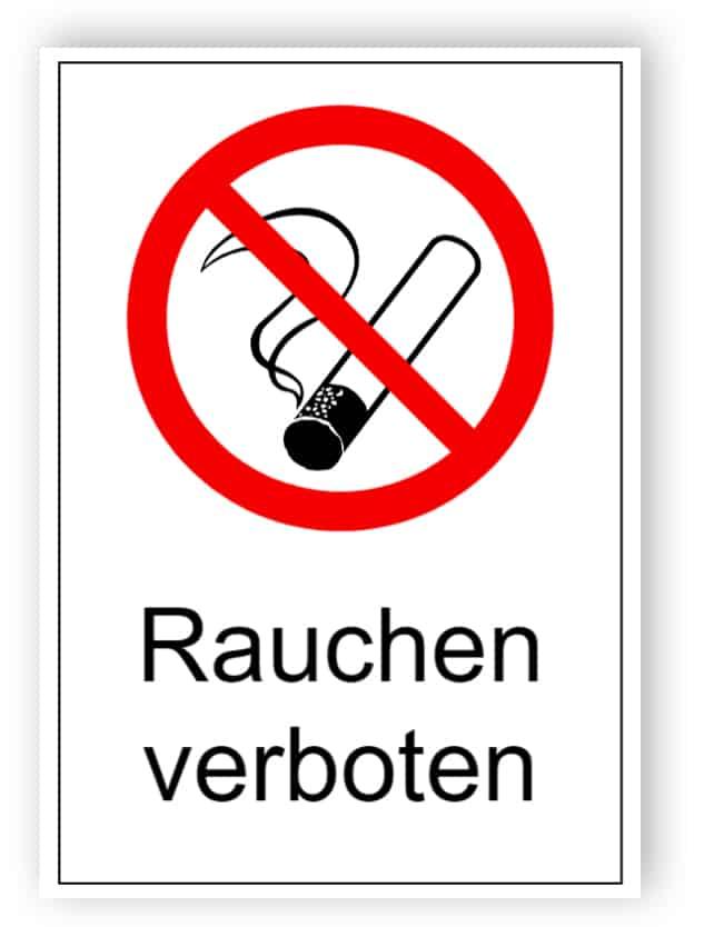 Rauchen verboten 1