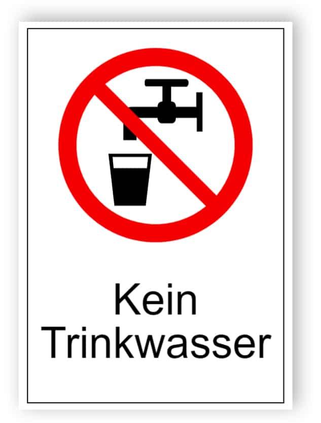 Kein Trinkwasser 1