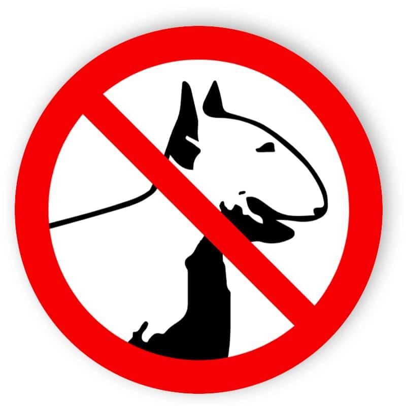 Kampfhunde verboten