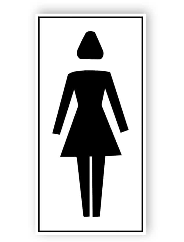 Toilette für Damen