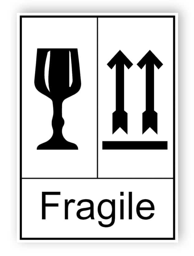 Fragile (englischer Text)