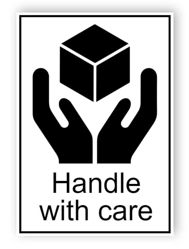 Handle with care (englischer Text)