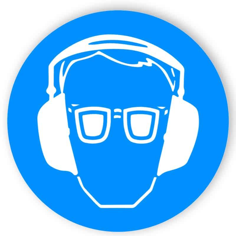 Augen- und Gehörschutz benutzen 1