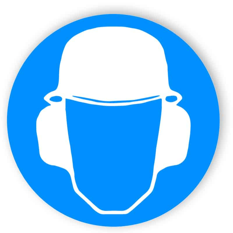 Kopf- und Gehörschutz benutzen 1