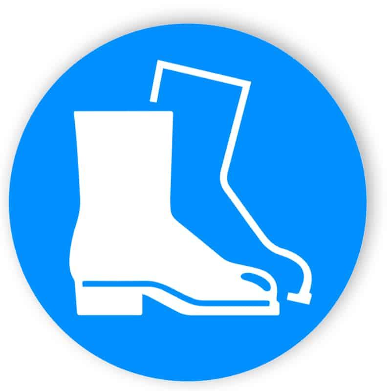Fußschutz benutzen 1