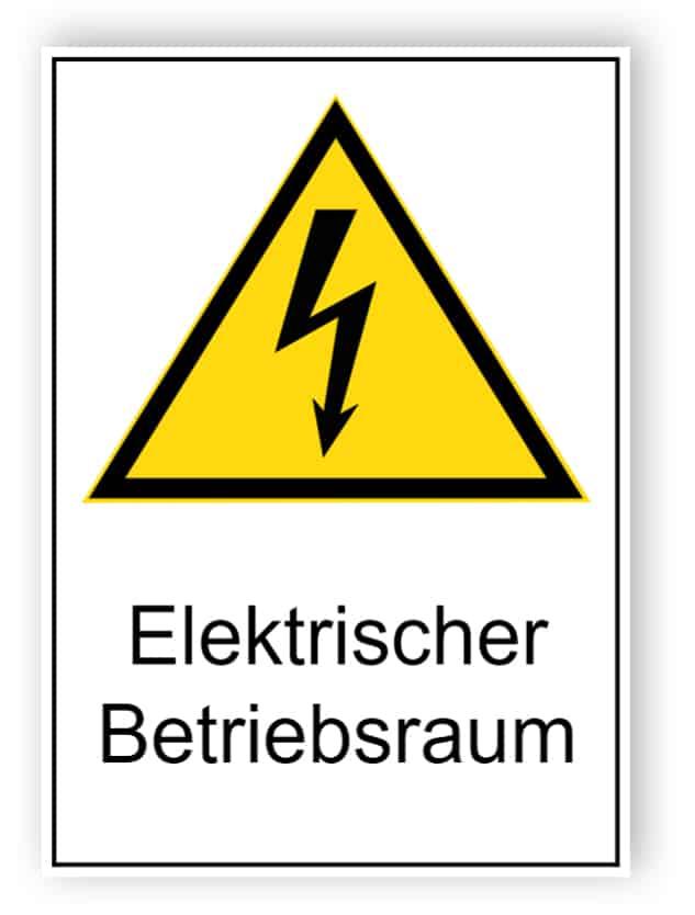 Elektrischer Betriebsraum
