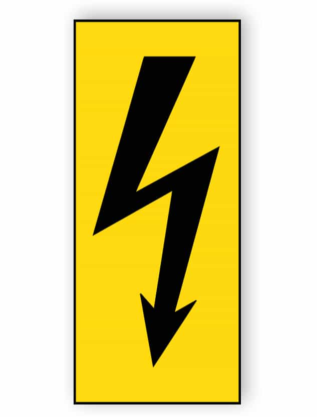 Elektrische Spannung (schwarz)