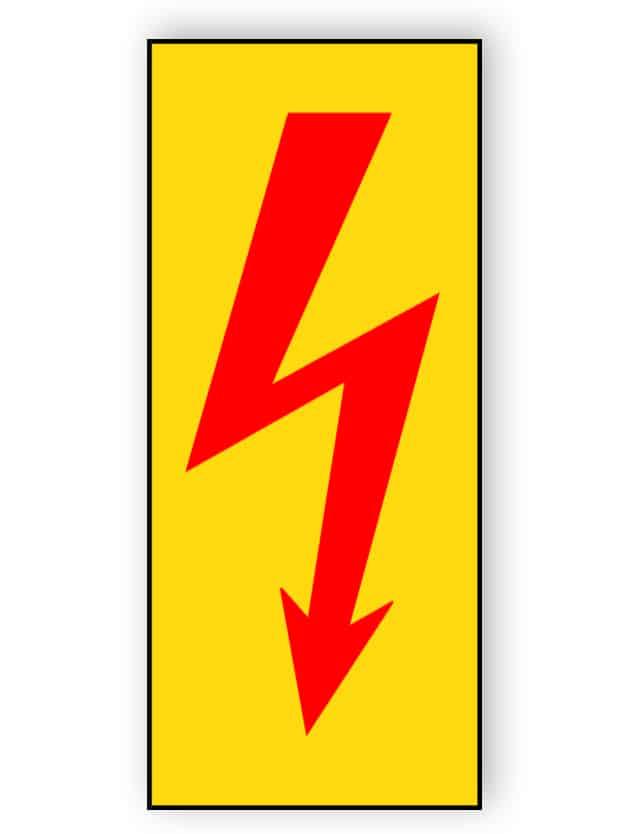 Elektrische Spannung (rot)