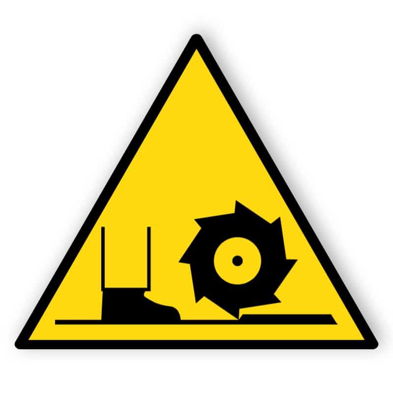Warnung vor Fräswelle