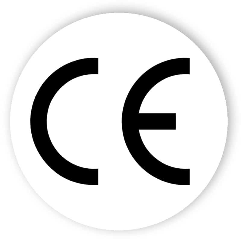 CE-logo (rund)