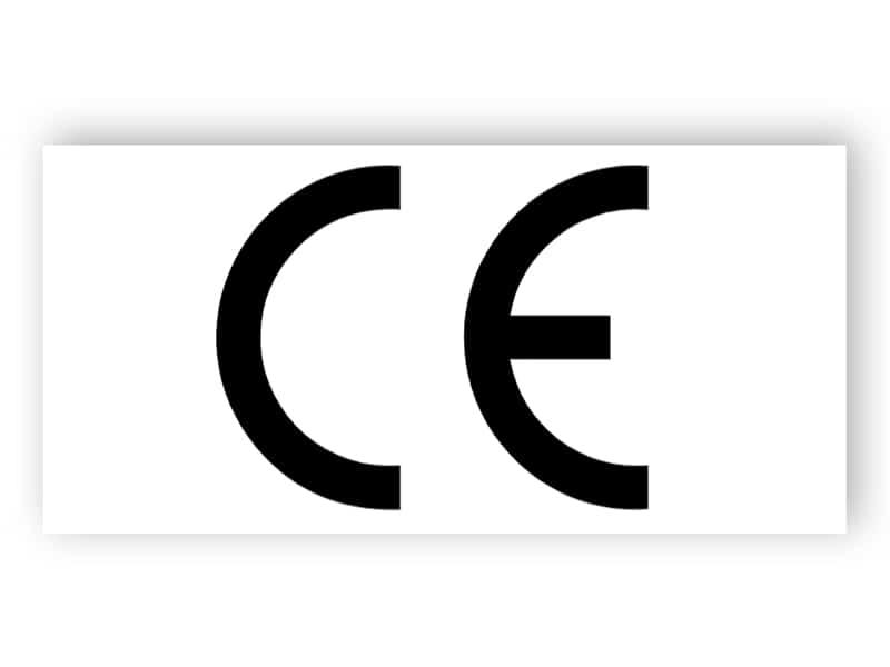 CE-logo (rechteck)