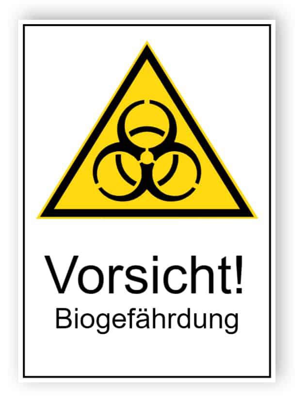 Vorsicht! Biogefährdung