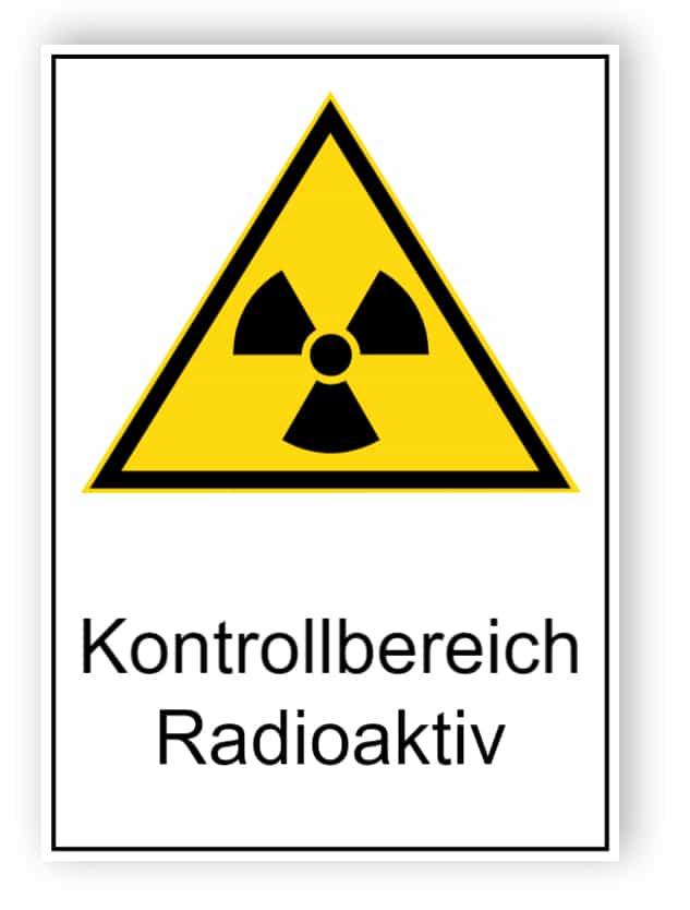 Kontrollbereich Radioaktiv