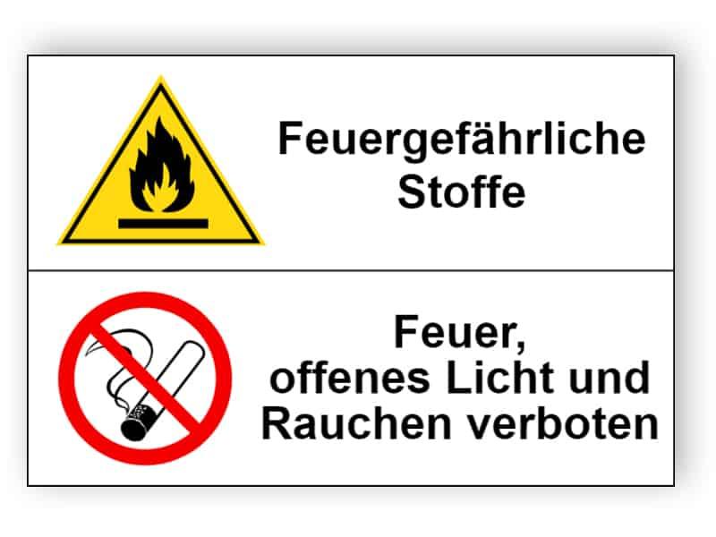 Feuergefährliche Stoffe