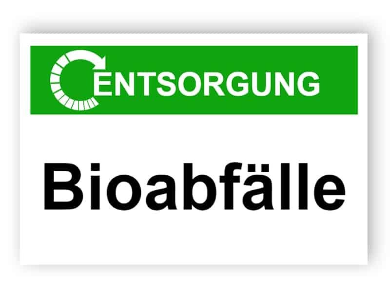 Entsorgung / Bioabfälle