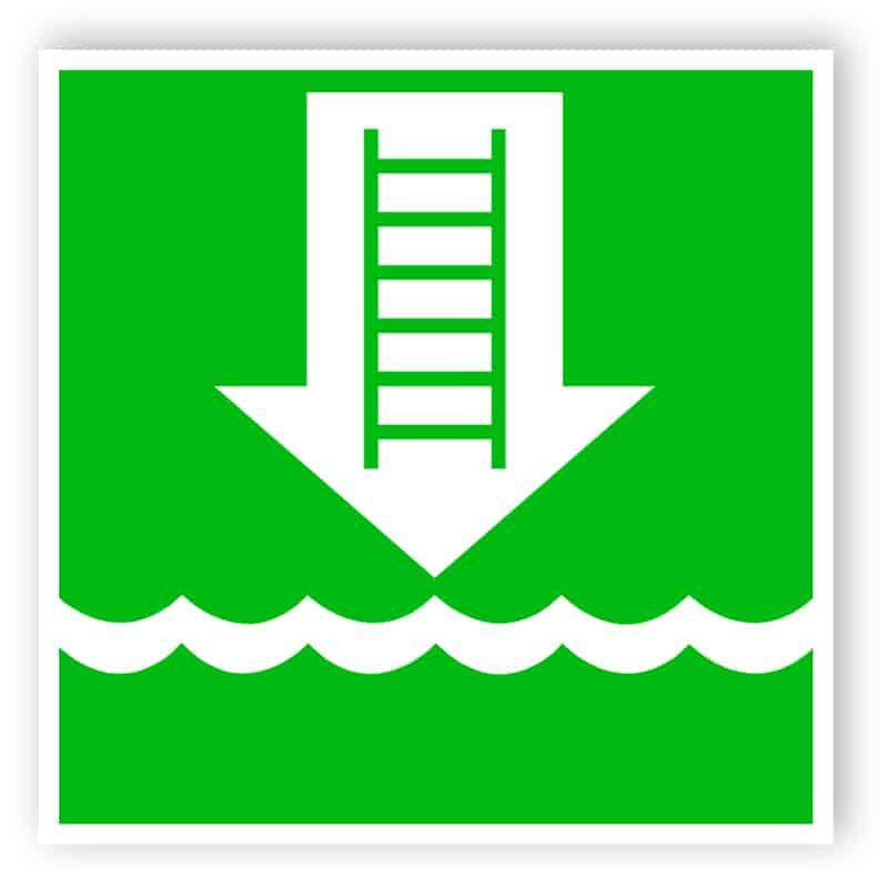 Einbootungsleiter