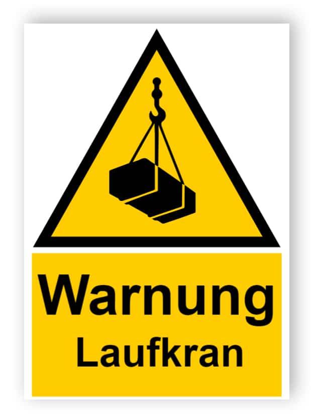 Warnung - Laufkran