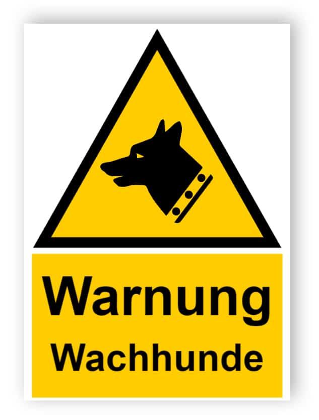 Warnung Wachhunde
