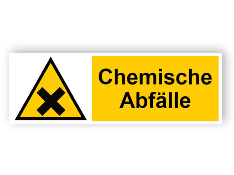 Chemische Abfälle