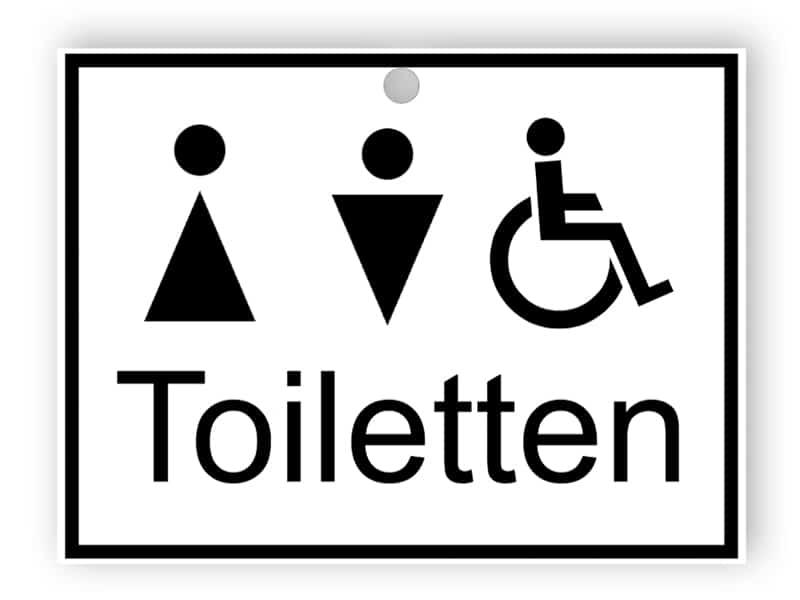 Toilettenzeichen - 09
