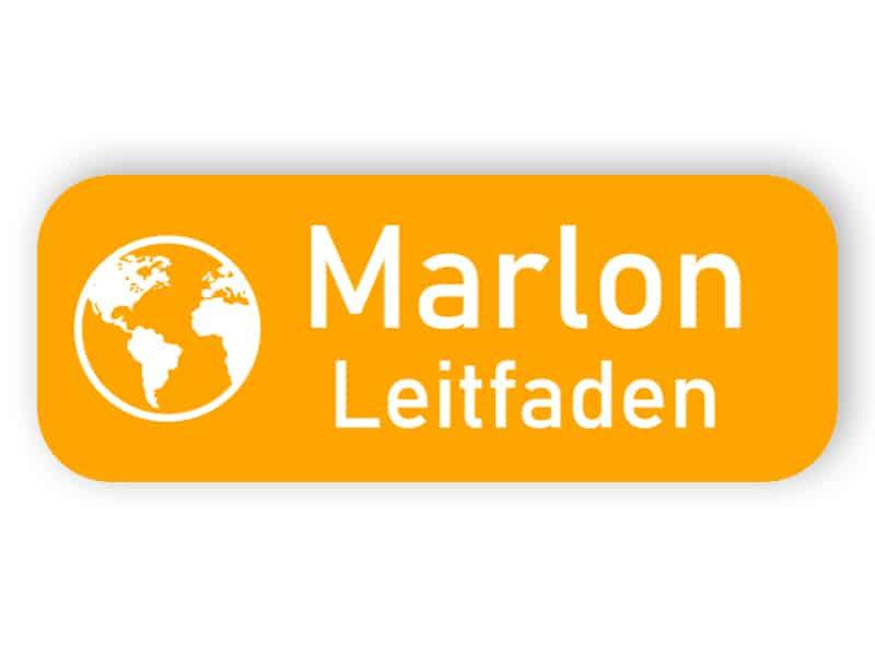 Orange Kunststoff-Namensschild
