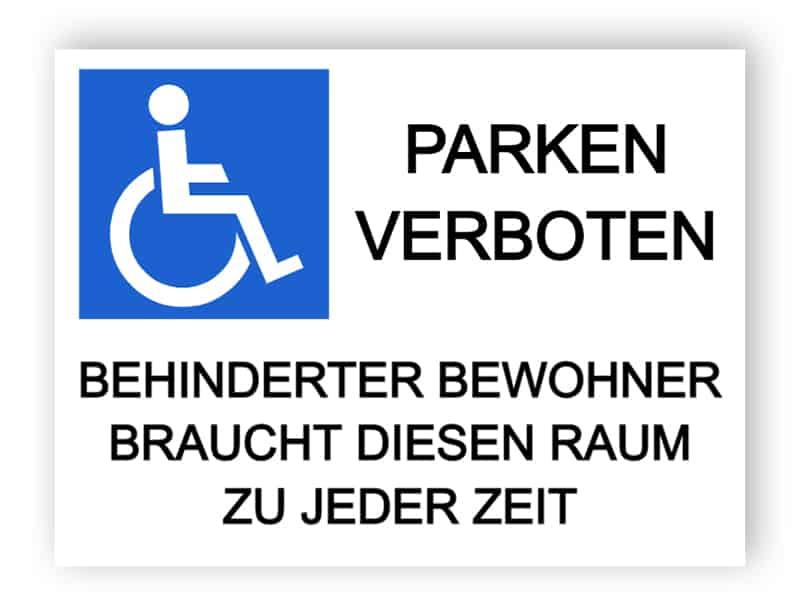 Es stehen keine Parkmöglichkeiten - disabled Bedürfnisse dieser Raum