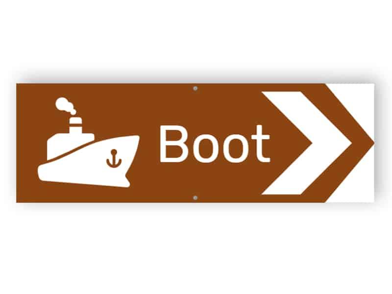 Boot Zeichen