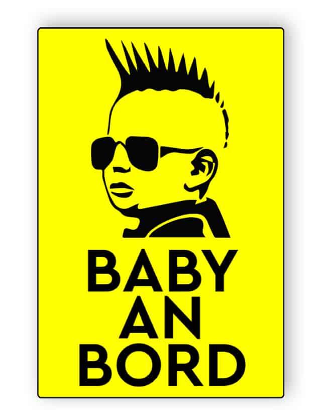 Cool Baby an Bord Aufkleber