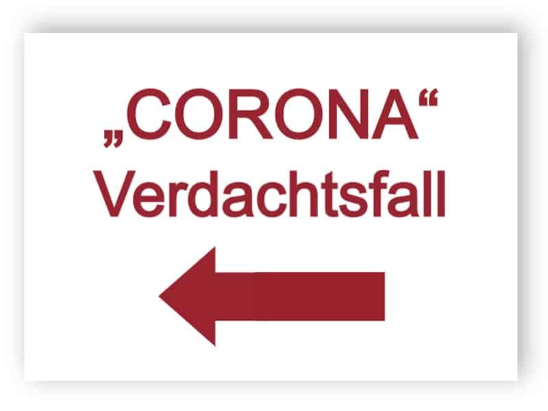 Corona - Verdachtsfall