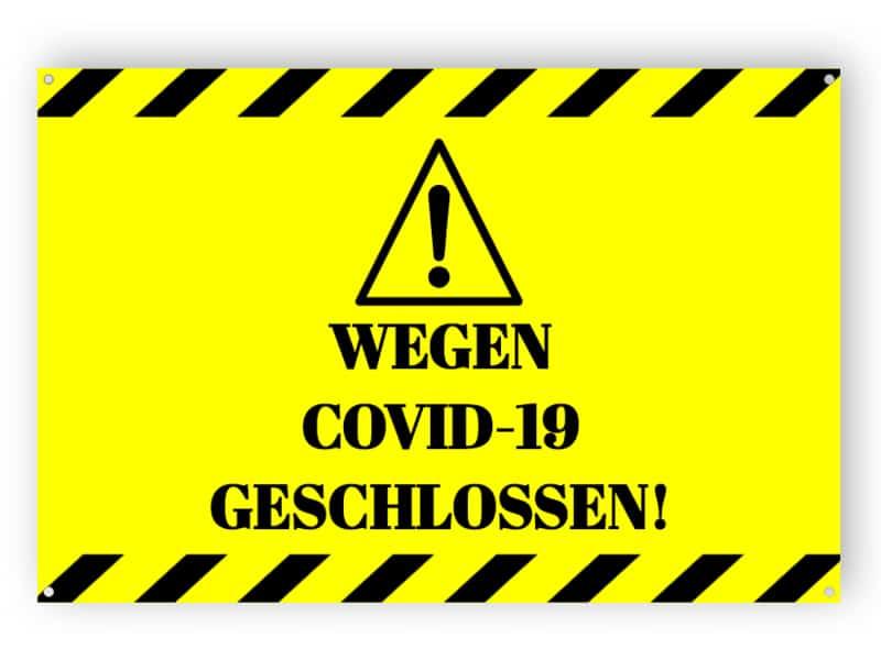 WEGEN COVID-19 GESCHLOSSEN!