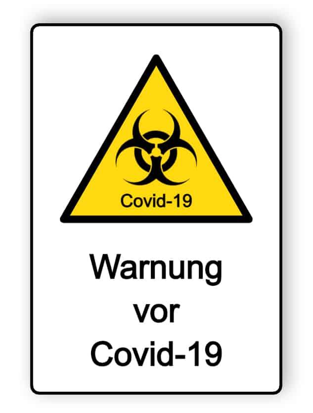 Warnung vor Covid-19