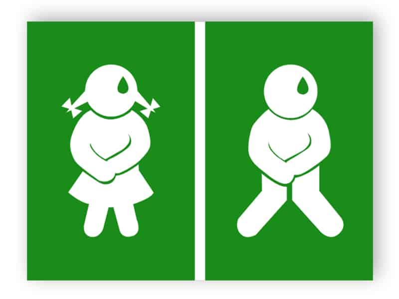WC-Tür-Schild 3