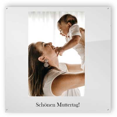 Schönen Muttertag - Plexiglasschilder