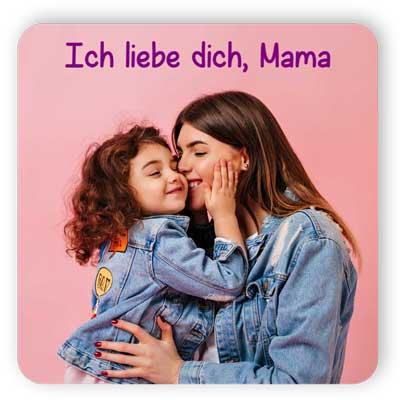 Ich liebe dich, Mama Kühlschrankmagnet