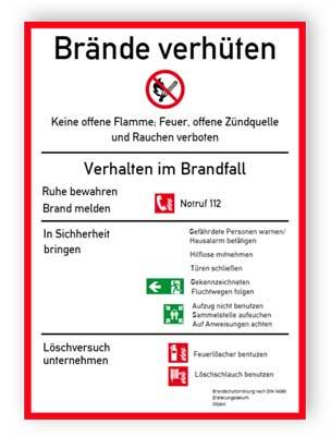 Brandschutzordnung