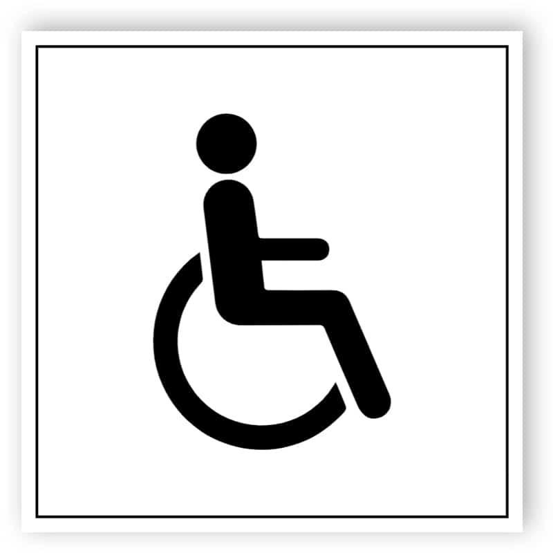 Behinderten Schild