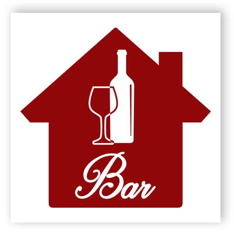 Wein BarSchild